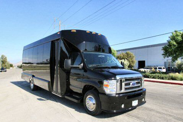 22 passenger party bus Cary