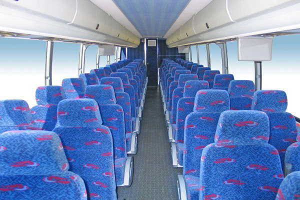 50 person charter bus rental Cary