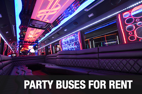 party bus Cary