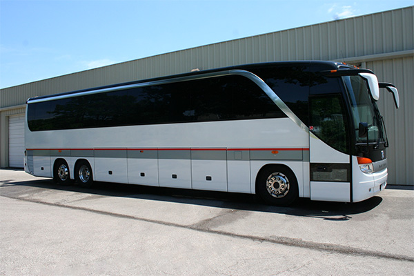 Cary 56 Passenger Charter Bus
